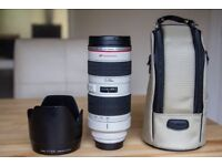 Canon EF 70-200mm F2.8L USM Non IS Lens