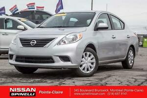 2013 Nissan Versa SV POWER GROUP/A/C/ CERTIFIED INSPECTED 155 PO