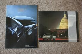MINT CONDITION 1988 USA/American Car Brochures Collection (Cadillac/Corvette/Buick/Lincoln/Mercury..