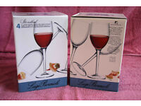 Eight Wine Glasses For Sale