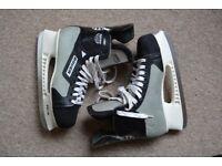 Bauer Silver PRO Men's Ice Hockey Skates Size 11 good quality