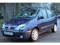 Renault Scenic 1.6 16v Fidji 5dr SAME LADY OWNER SINCE 2006