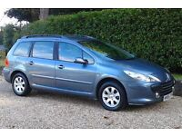 06 Plate Peugeot 307SW HDi (Diesel) Estate, Newly MOT'd (No Advisories)Low Mileage,Ideal Family Car