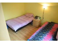 Twin room in South Wimbledon. Available now.