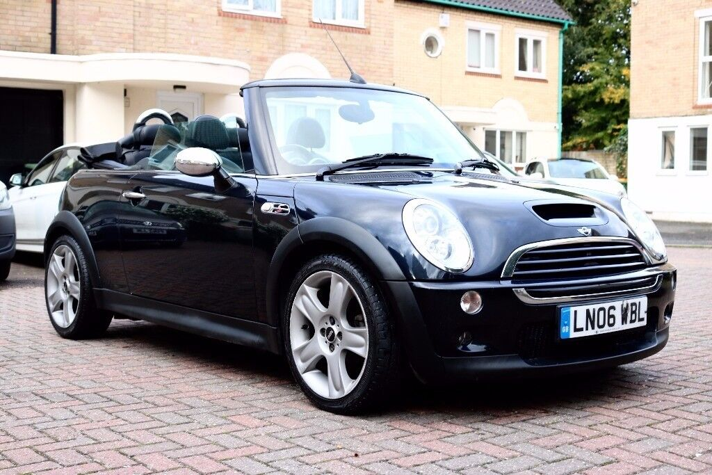 MINI Convertible 1.6 COOPER S 2d 168 BHP 6 SPEED PARKING AID, FSH, HPI CLEAR