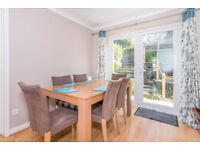 Dining table without chairs. Beech wood