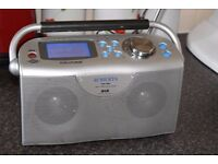 ROBERTS 202 DAB RADIO WIFI BUILT IN AUX IN INTERNET PLAY IPODPHONE
