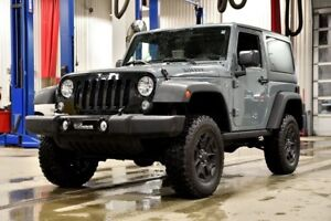 2015 Jeep Wrangler SPORT WILLYS * 2 TOITS * HITCH * ÉCRAN TACTIL