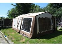 Conway trailer tent, quick sale wanted, need the garage space. offers considered
