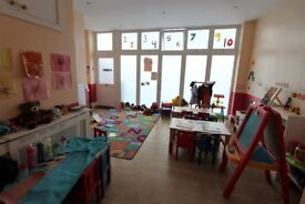 D1 Nursery just few minutes from Redbridge Station --Ilford --Viewing STRICTLY by appointment
