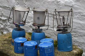 Camping stove, campingaz lamps, burner
