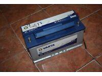 VARTA Car Or Van Battery 95 AH Merceds Bmw Audi VW Vans X5 Cells 100%