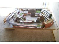 Model Train layout.