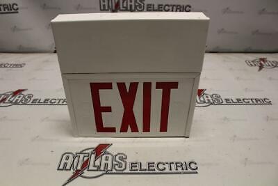Sure-lites Un-1-srw Emergency Exit Light Right Single Or Double Face