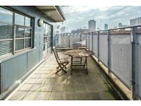 OLD STREET 2 BED 2 BATH PENTHOUSE WAREHOUSE CONVERSION WITH BALCONY