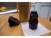 Nikon Nikkor AF-S VR 70-300MM ZOOM LENS VR. MINT CONDITION