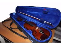 Stentor outfit student 1 3/4 size violin with case