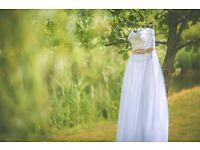 Wedding dress size 10-14