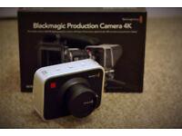 Blackmagic Design Production Camera 4K EF Mount Cinema Camera