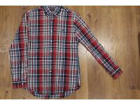Polo by Ralph Lauren Shirt, Checked in Red/Blue, S/P Custom Fit