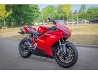 Ducati 848 (2008) Red | Full Service History
