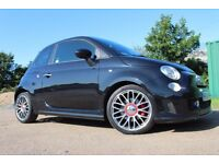 Abarth 500 1.4 T-Jet 3dr FSH; MONZA; INTERSCOPE