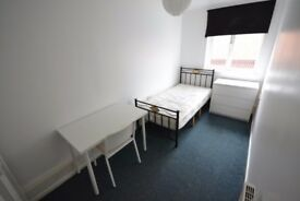 Double room single bed 2 x bathrooms Hyson Green Nottingham All bills included Monthly contract