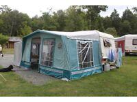 Isabella Ambassador caravan awning plus Isabella extention