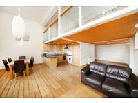 Spacious and secure 2 bed Penthouse Loft apartment with private Parking, Burgess Park SE5 London
