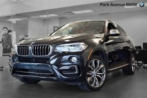 2015 BMW X6 xDrive35i / 20'' / CUIR ROUGE / LED /