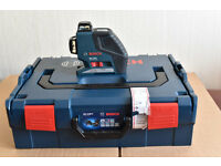 Bosch GLL 2-80 P Professional Line Laser Kit used ,like new.