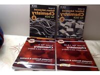 ocr b salters chemistry years 1 (AS) and years 2 (A2) separate original study book and revision.
