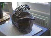 Second hand GIVENCHY Khaki colour Men's leather bag