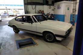 Details about Ford Capri - Mk3 2.0 White Classic Car (Not Escort, Project, Volkswagen) 12m MOT
