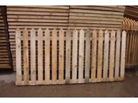 PICKET FENCE PANELS 3 X 6 FOR SLOTTED POSTS ONLY £10 EACH