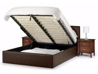FOR SALE SINGLE ,KING AND DOUBLE LIFT UP STORAGE LEATHER BED WITH SEMI ORTHOPAEDIC MATTRESS BLACK