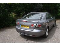 Mazda 6 in excellent condition - leather interior - tow bar