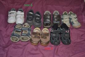 Bundle boys shoes size 5 and 6