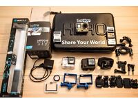 GoPro HERO4 Black Edition 4K with Accessories!