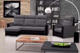 Corner Sofa Bed AXXI + armchair, Brand New, Seater, Settee, Living room set, FAST DELIVERY