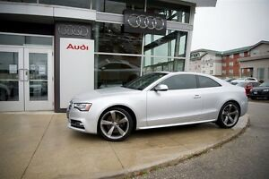 2013 Audi S5 3.0T 6sp manual Quattro Coupe - AUDI CERTIFIED