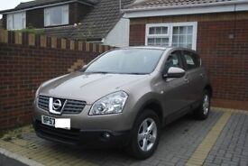 Nissan Qashqai Acenta 1.6 Petrol Year 2008 only covered 45,000 miles NEW MOT 12 MONTHS