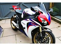 2010 Honda Fireblade 1000RR-A. Low Mileage, Loads of Extras, 1 year MOT