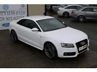 2011 AUDI A5 2.0 TDI QUATTRO S LINE 168BHP BLACK EDITION COUPE (FINANCE & WARRANTY AVAILABLE)