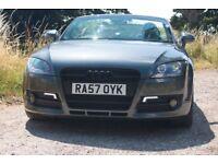 Audi TT 2.0 TFSI Convertible. Low Mileage. Metallic Grey. Get summer ready!!