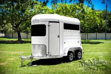 McMillan 2 Horse Float with Canvas Covers Mansfield Brisbane South East Preview