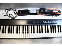 M-Audio MIDI Keyboard on sale / 88 Full Key / Pedal Inclusive
