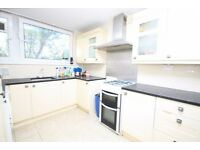 A spacious 3 bedroom split level flat with balcony on North End Road