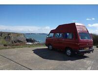 VW Westfalia Camper Van, California High Top T25 / T3