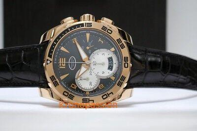 Parmigiani Fleurier Pershing Chronograph 18K Rose Gold 45Mm Pfc528 1010301 New